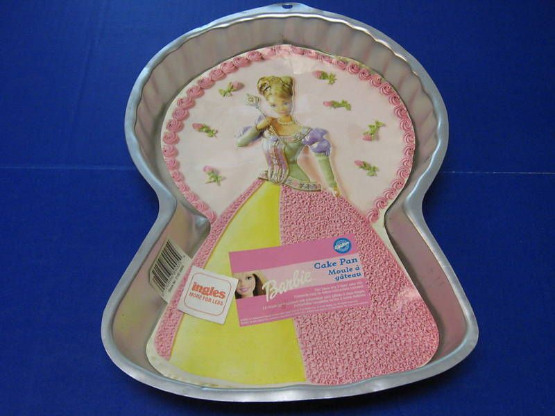 WILTON VINTAGE BARBIE DOLL BIRTHDAY CAKE PAN NEW