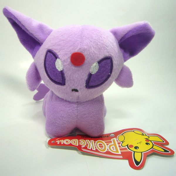 Pokedoll Espeon Eifie Soft Stuffed Animal Plush Toy 5/13CM New
